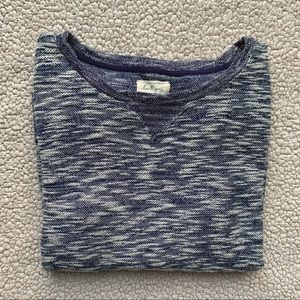 • Lou & Grey Navy Marled Pullover •